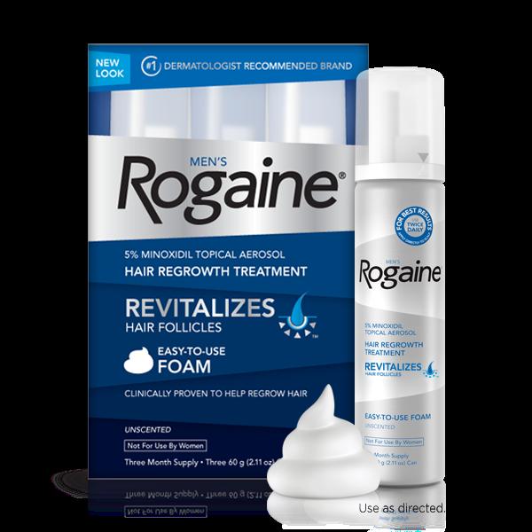 น้ำยาปลูกผม ผู้ชาย Rogaine Foam Hair regrowth