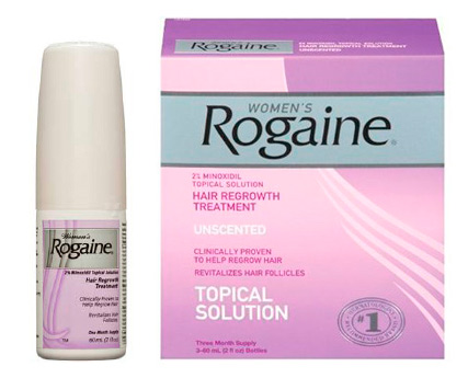 น้ำยาปลูกผม ผู้หญิง women rogaine